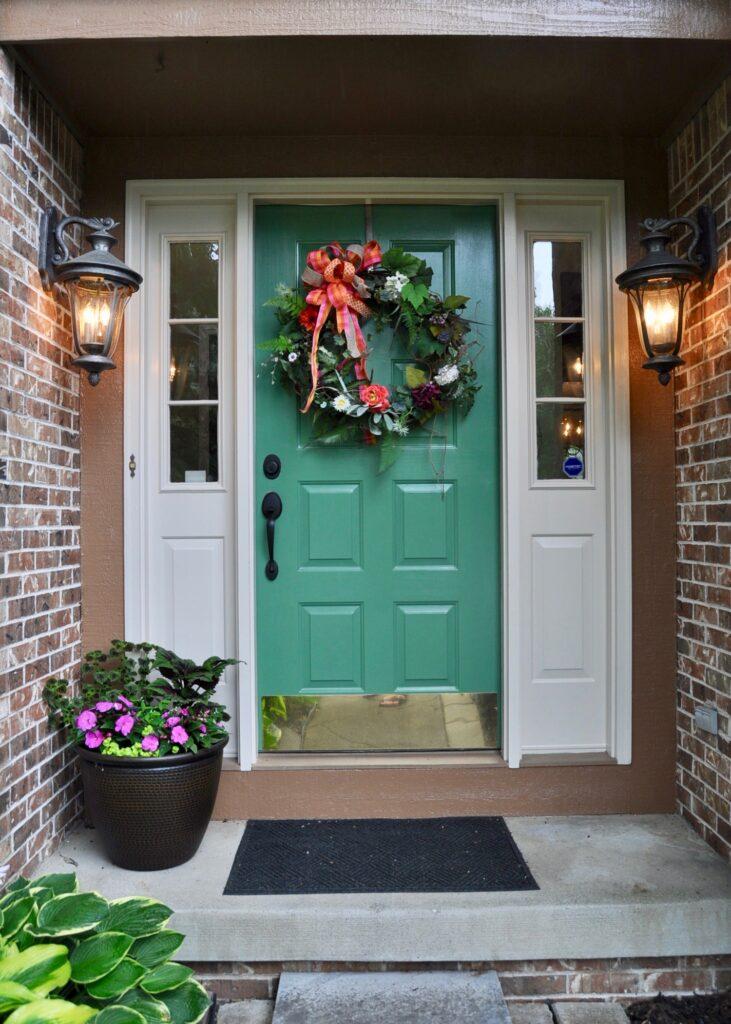 Modernize your door hardware to update your exterior