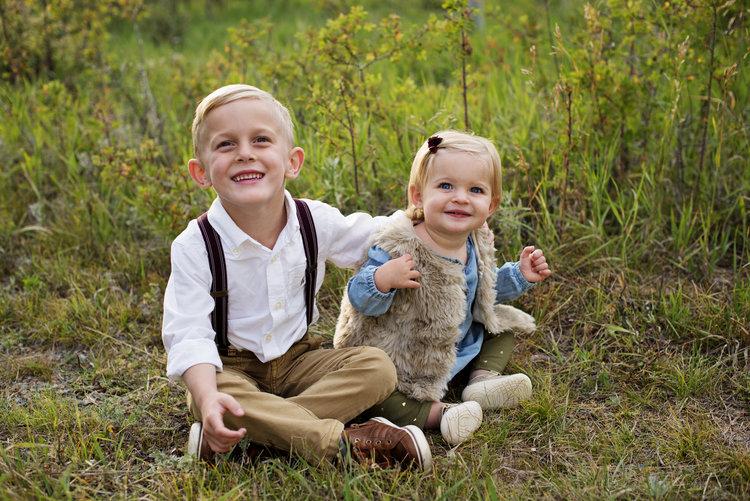 My beautiful two children.