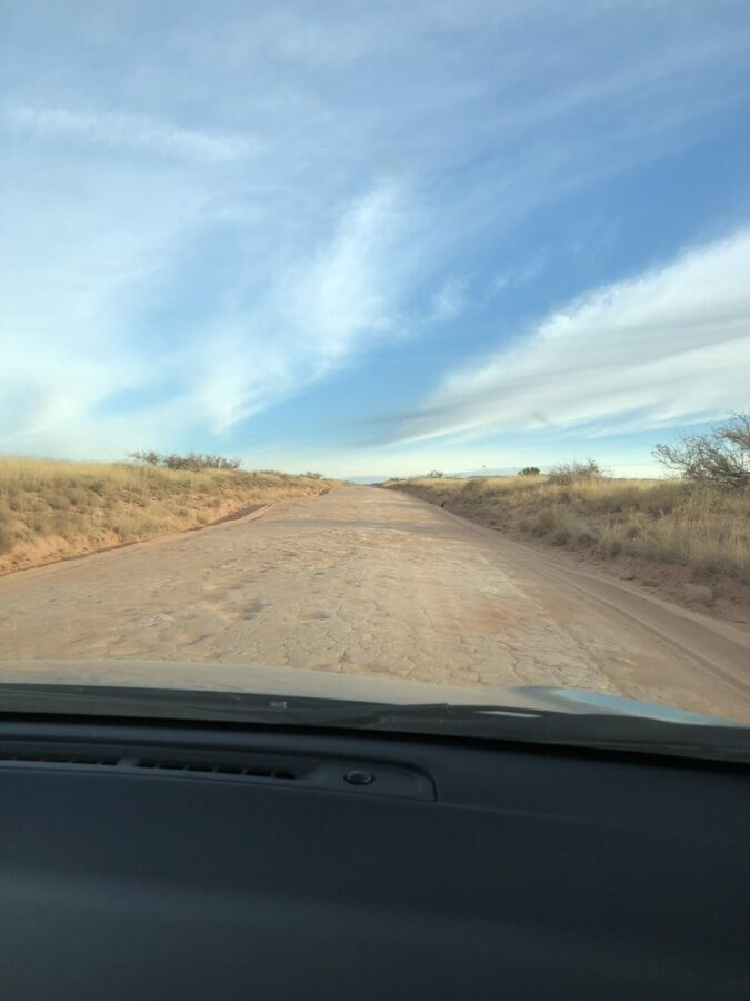 The road to the Tao Mago meditation retreat.