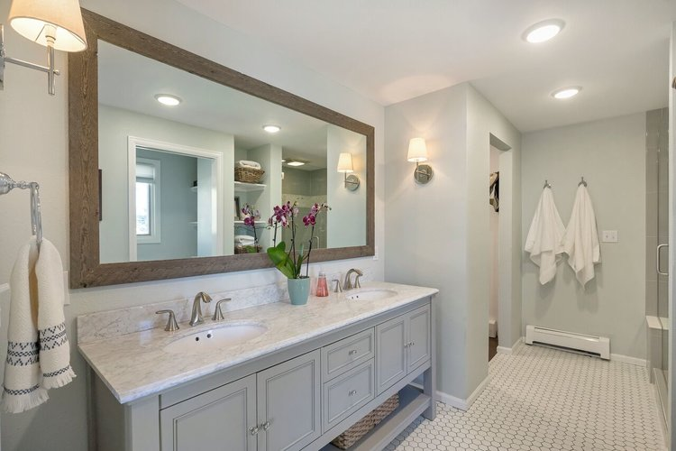 The complete bathroom renovation!