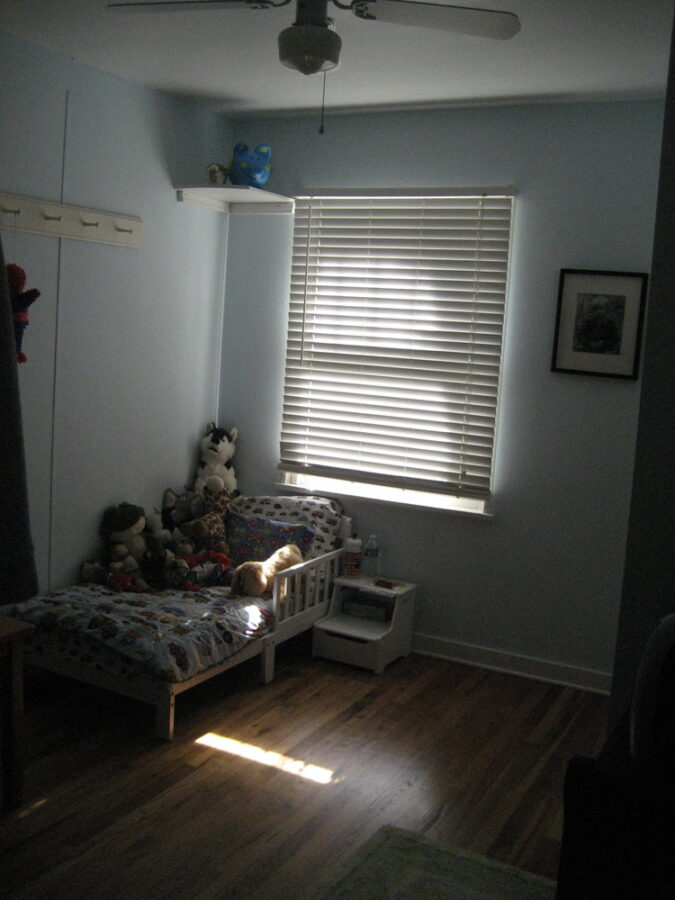 The second bedroom for a small child