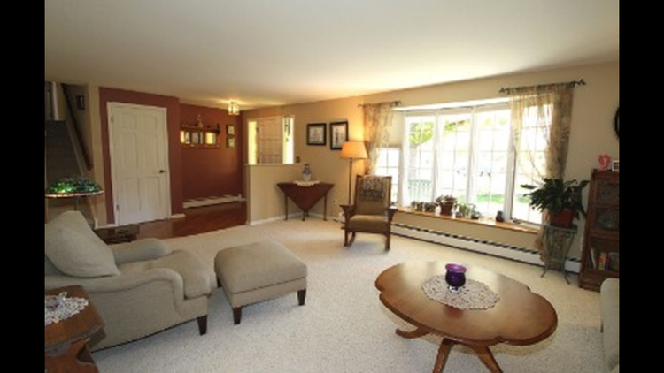 Formal living room and front entrance