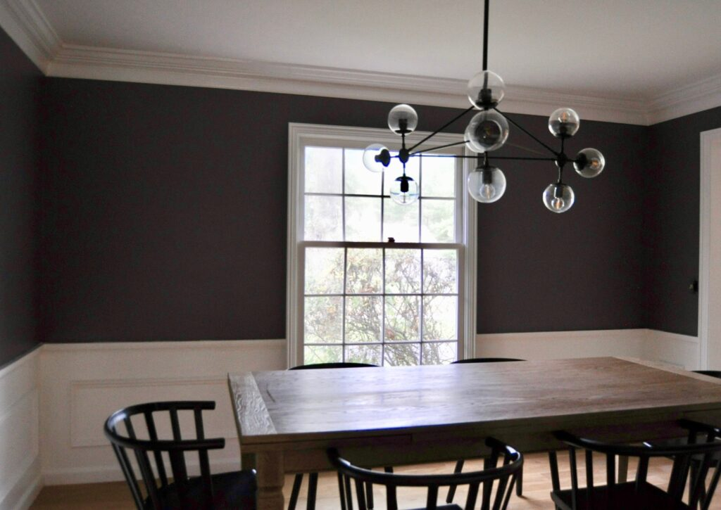 OCR dining room painted