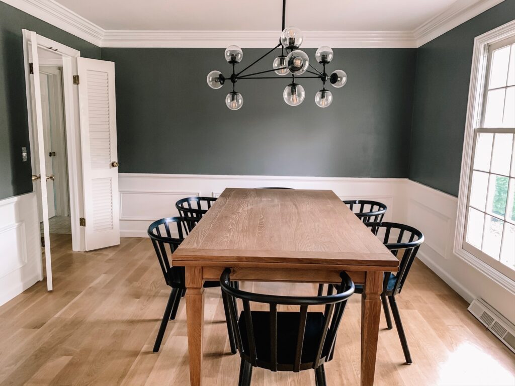 Week 3 of ORC  - Painted Dining Room