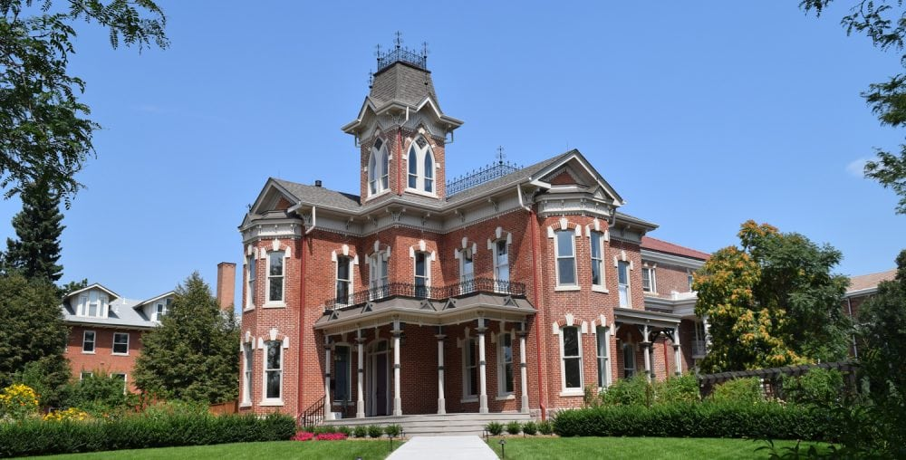 Victorian Itialiante style - Bosler House in Denver, CO
